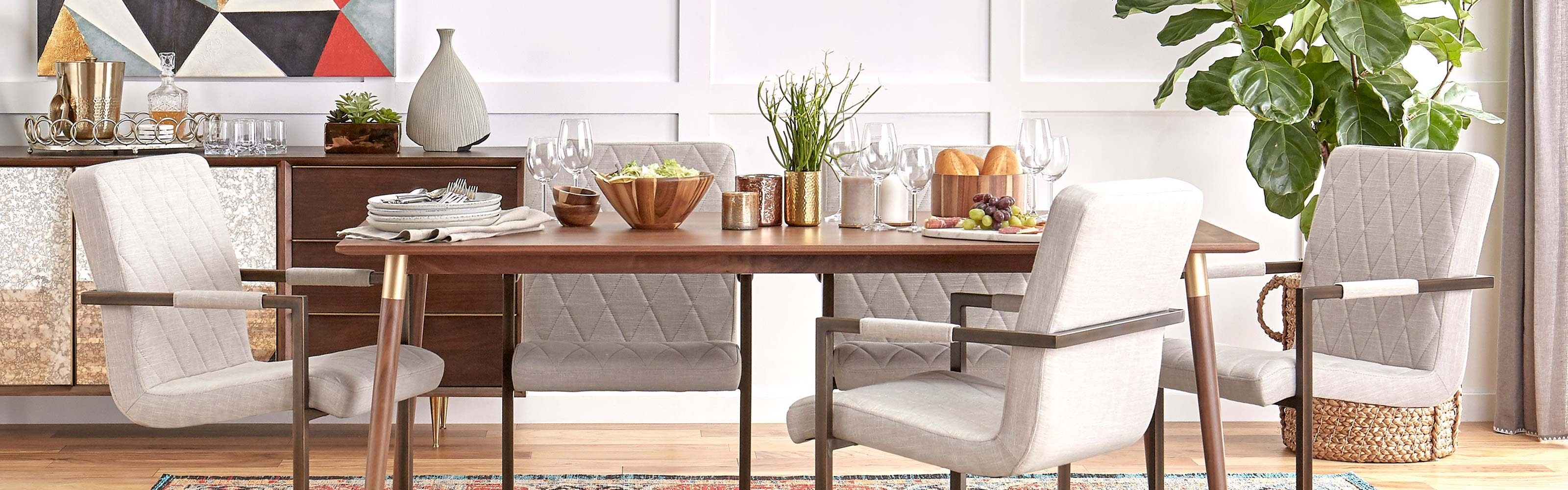 Mid Century Modern Dining Room Tables & Sets
