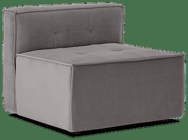 matias armless chair taylor felt grey