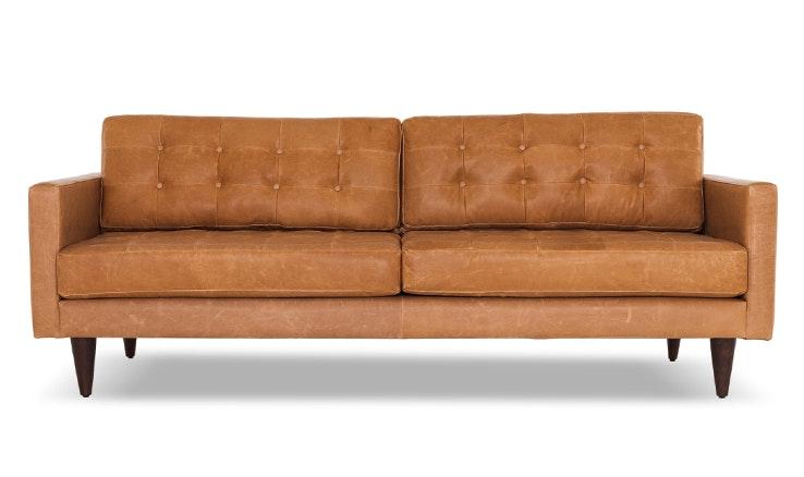 Eliot leather sofa customize product joybird for Edit 03 sofa