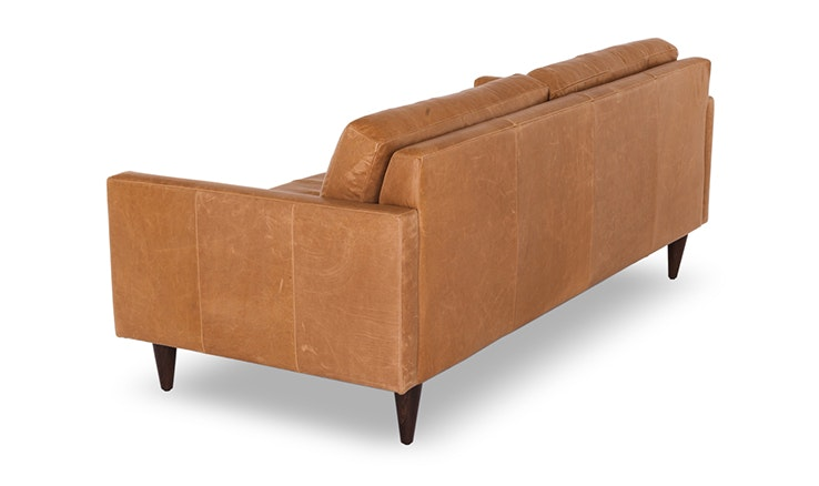 Eliot leather sofa customize product joybird for Edit 03 sofa