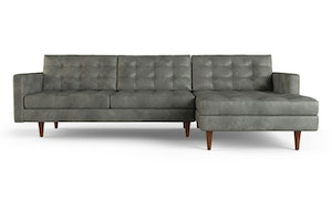 Eliot Leather Sectional