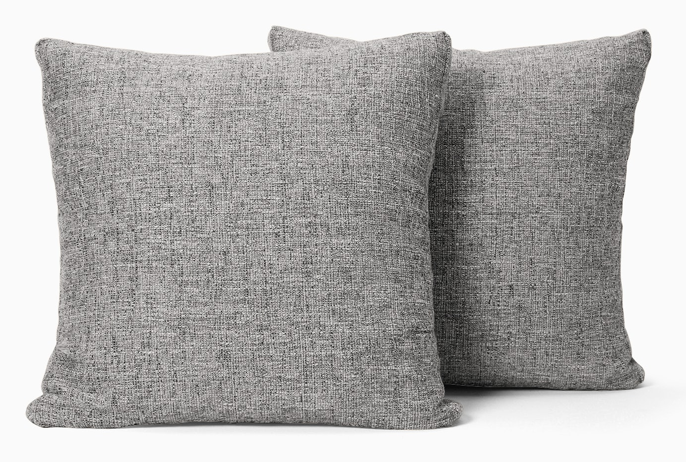 decorative boxed pillows %28set 2%29 sunbrella premier fog