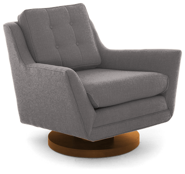 eastwood swivel chair taylor felt grey