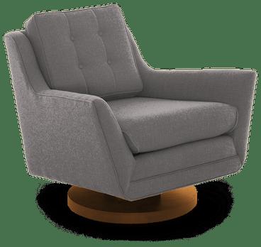 eastwood swivel chair taylor felt grey