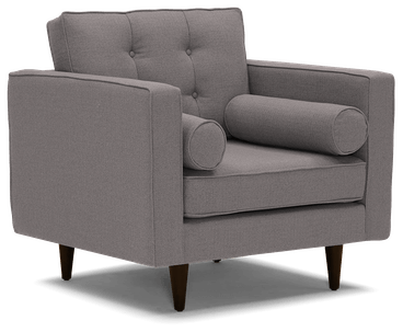 braxton chair taylor felt grey