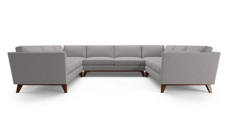 Roller U-Sofa Sectional - Customize Product | Joybird