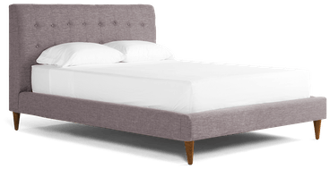 eliot bed taylor felt grey