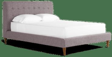 eliot bed taylor felt grey