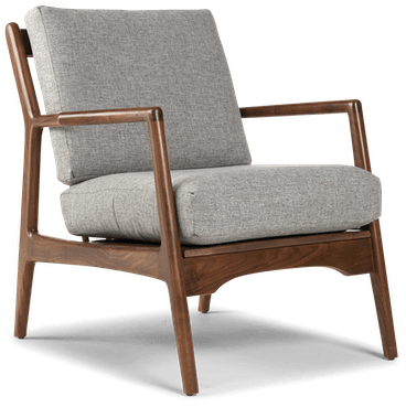 collins chair taylor felt grey