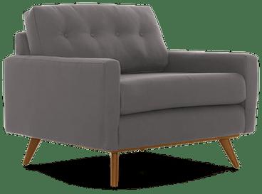 hopson chair taylor felt grey
