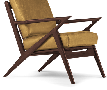 soto leather chair colonade sycamore