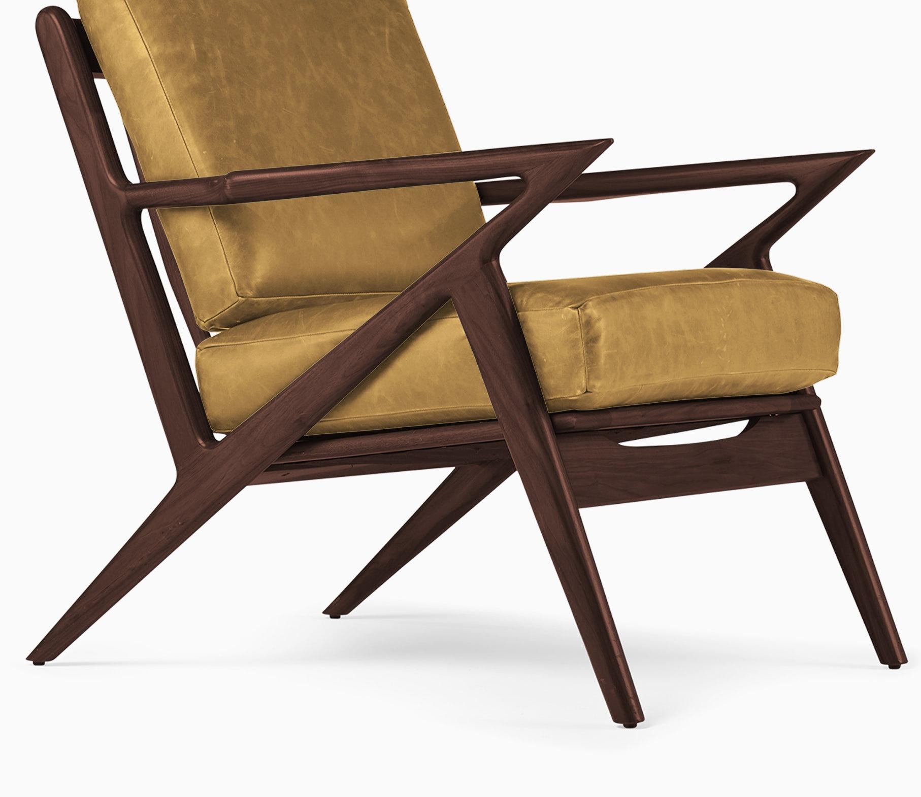 soto leather chair colonade sycamore