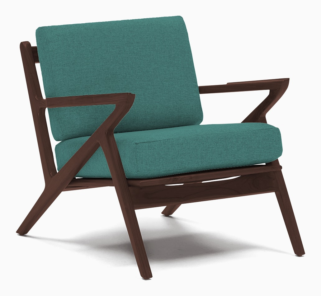 soto concave arm chair essence aqua