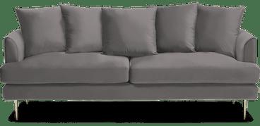 aime sofa taylor felt grey