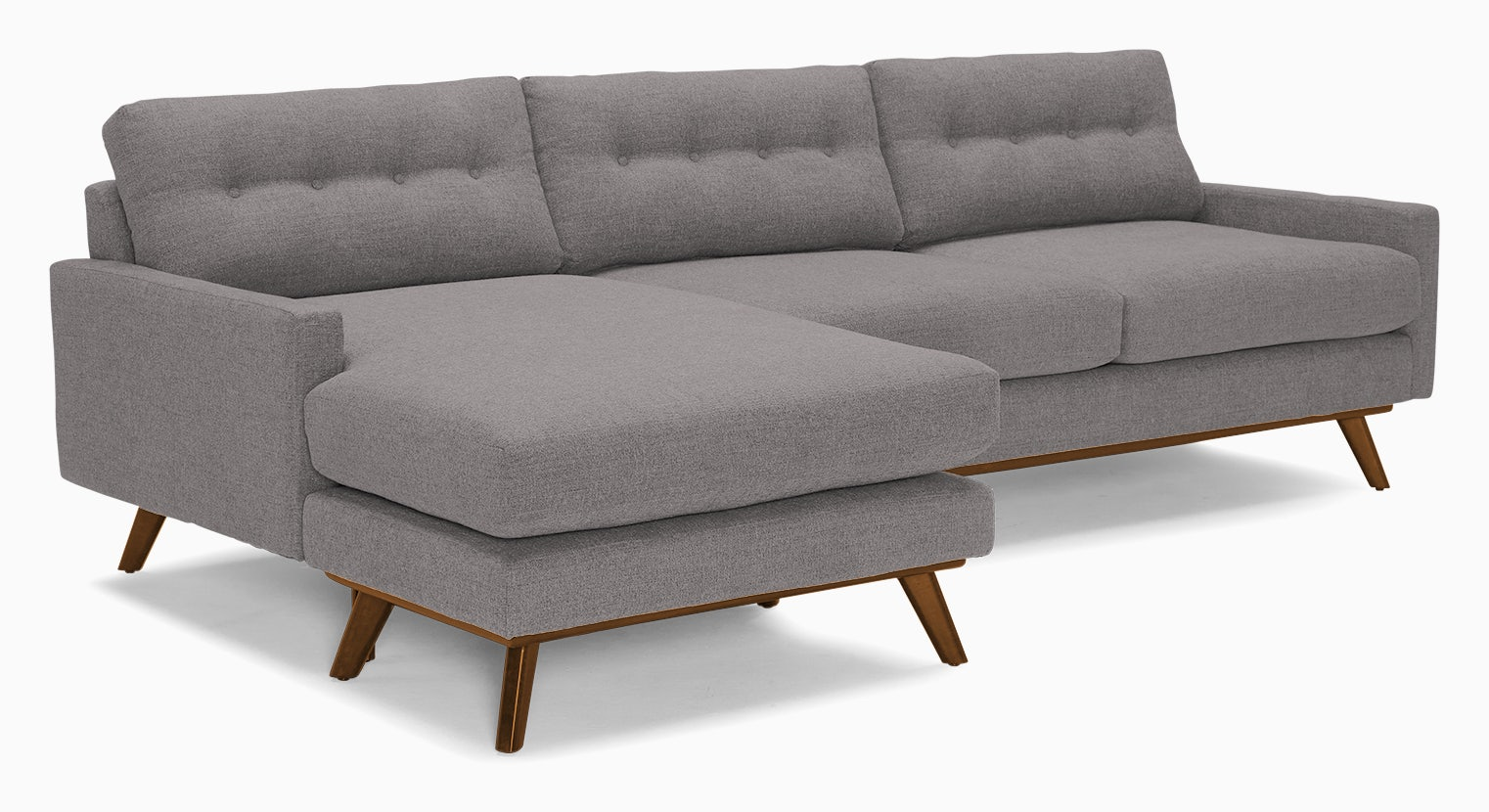 hopson reversible sectional taylor felt grey