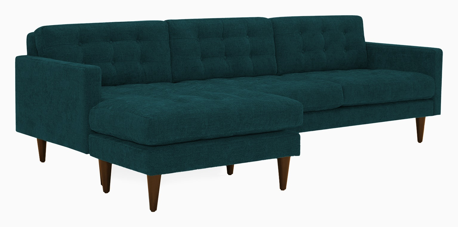 eliot reversible sectional royale peacock