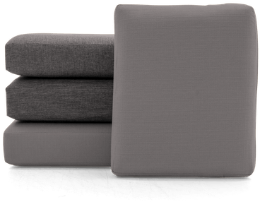 soto concave cushions and covers %28set%29 taylor felt grey