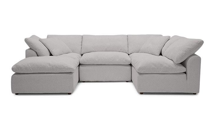 Bryant U-Sofa Bumper Sectional (5 Piece) - Customize Product | Joybird