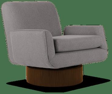 bingham swivel chair taylor felt grey