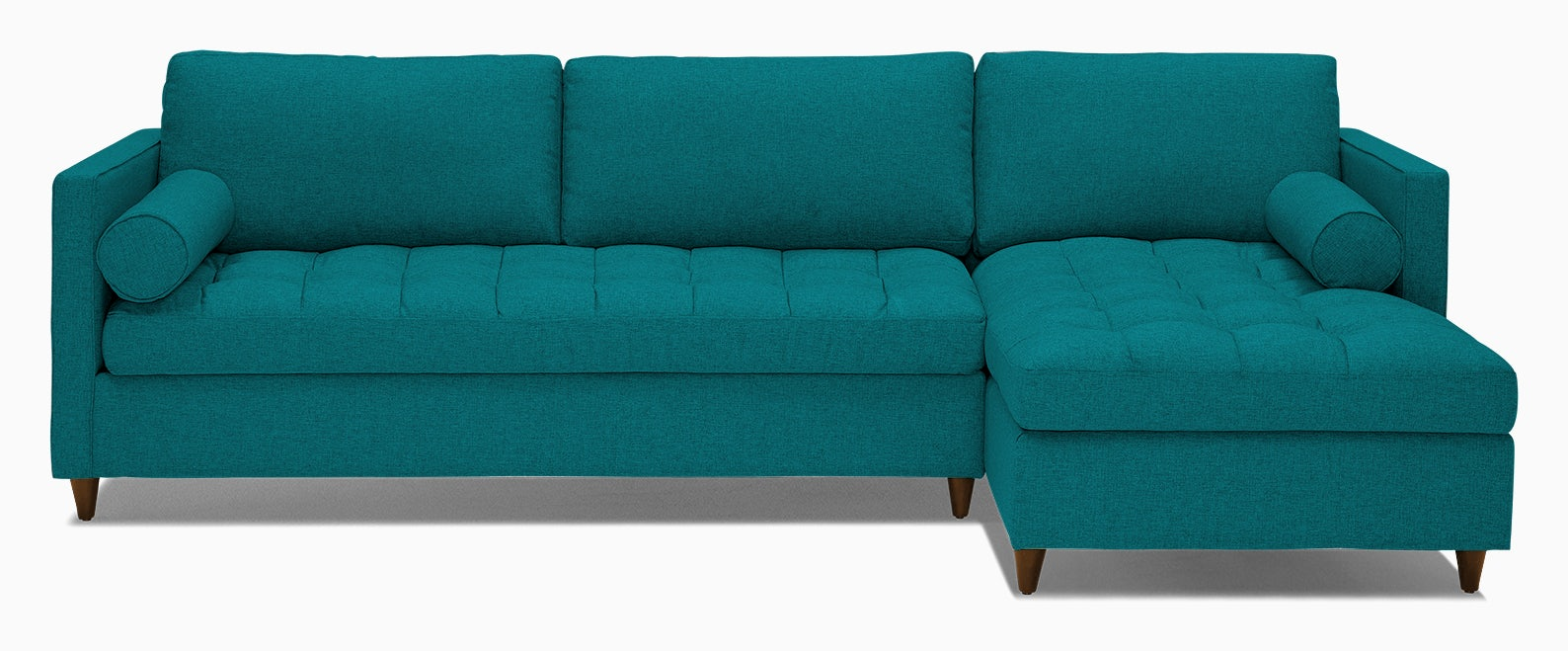 briar sleeper sectional lucky turquoise
