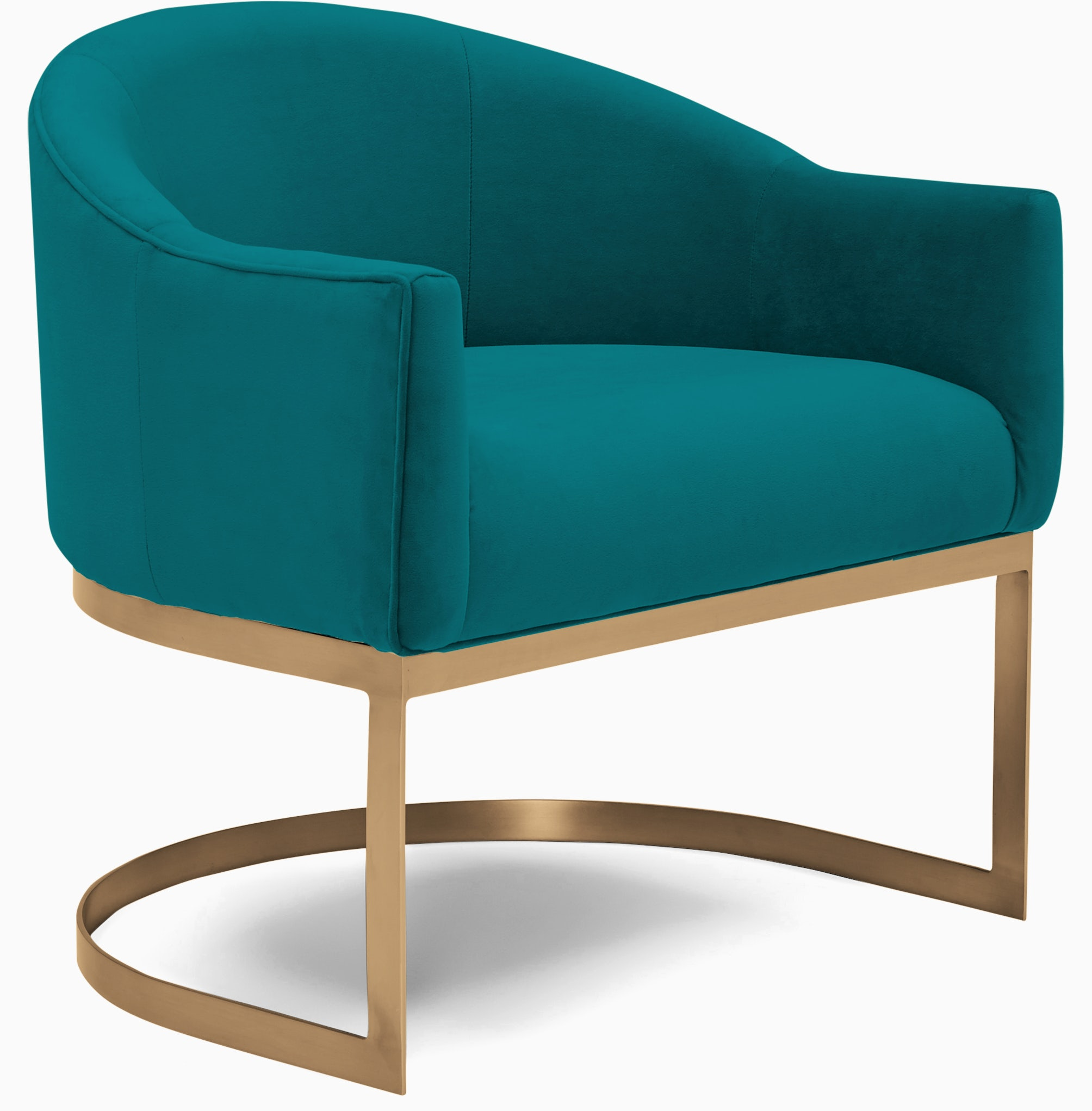 jolie accent chair lucky turquoise
