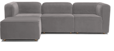 logan modular sectional taylor felt grey
