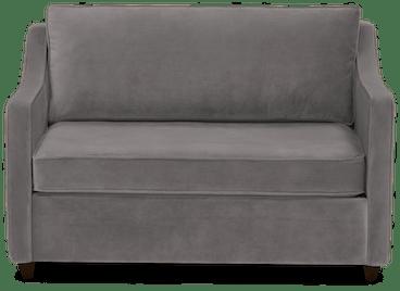 brooks twin sleeper sofa taylor felt grey