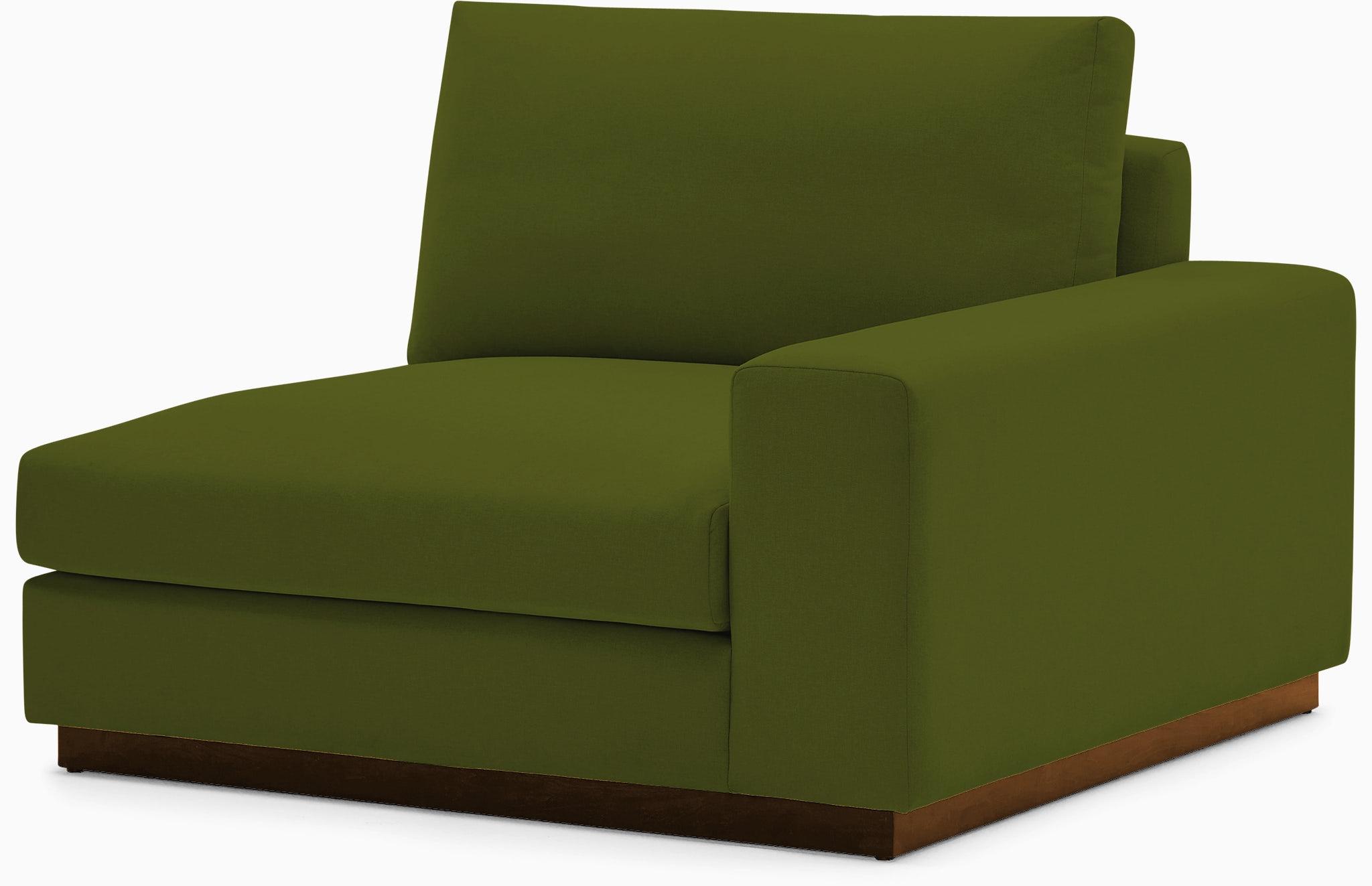 holt single arm chair royale apple