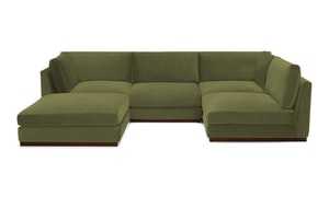 Holt Armless U-Sofa Sectional (5 piece)