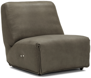 clover leather chair toledo pewter
