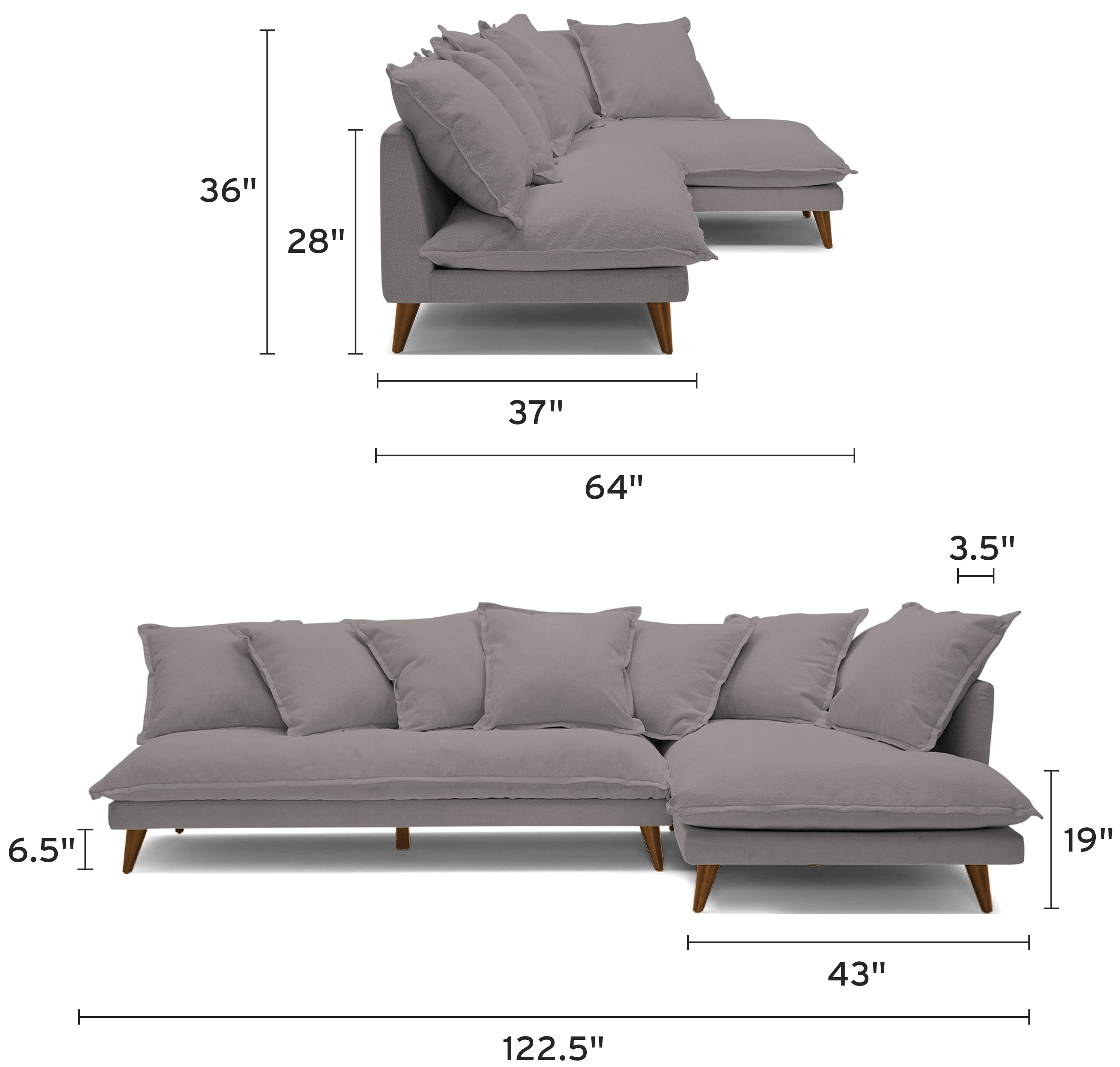 denna sectional mobile