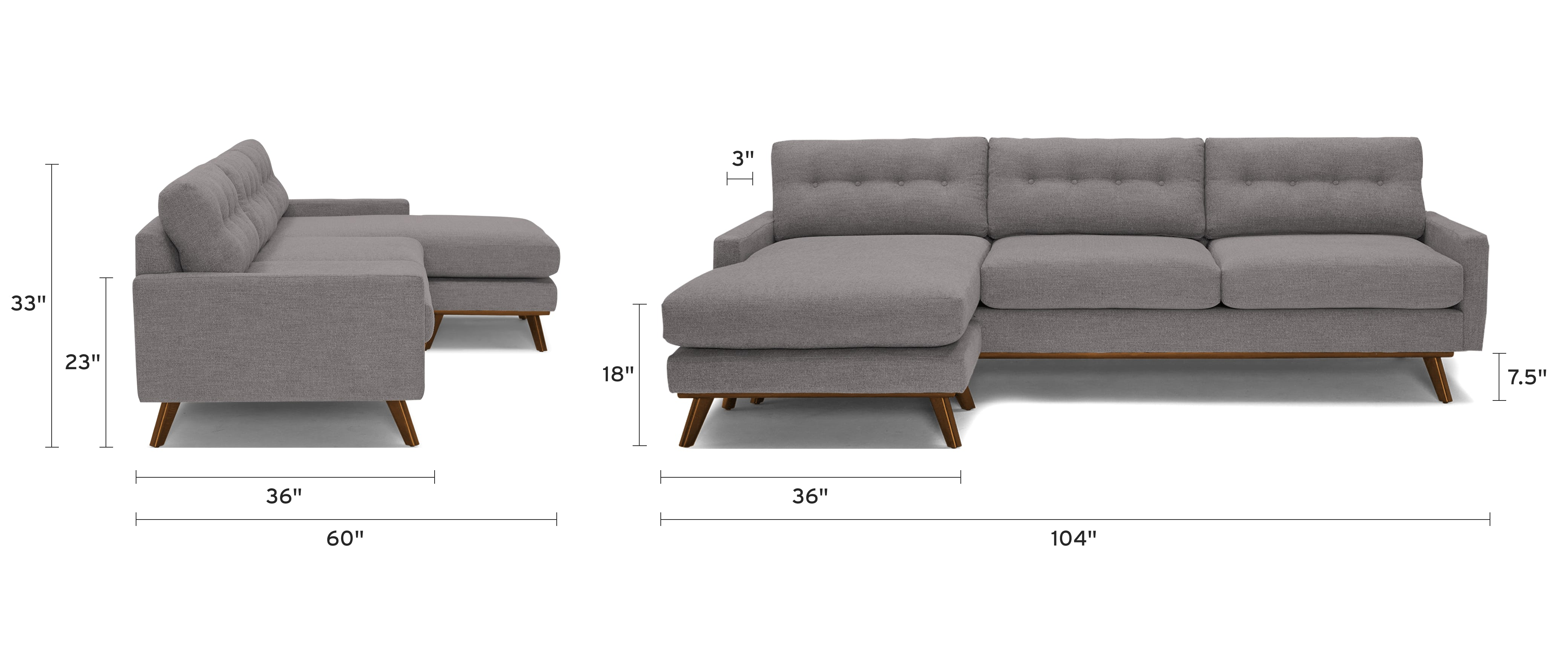 hopson reversible sectional dimensional image
