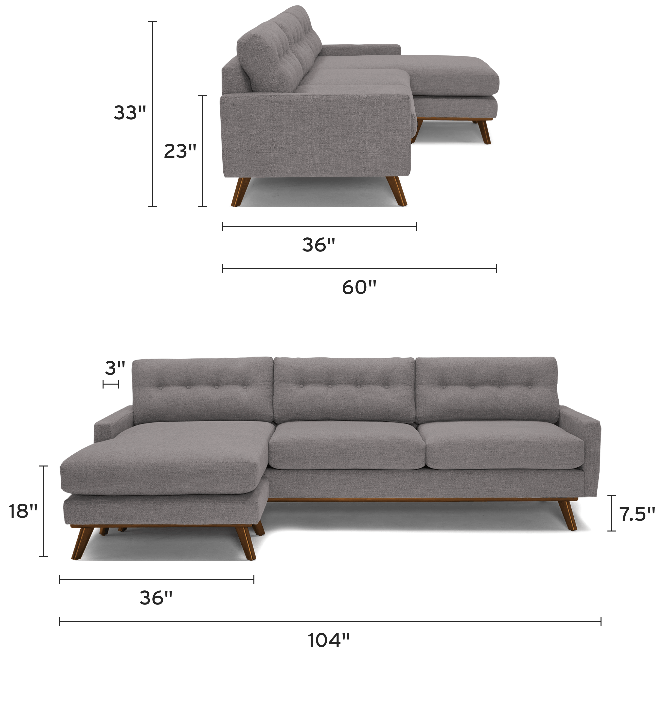 hopson reversible sectional mobile dimensional image
