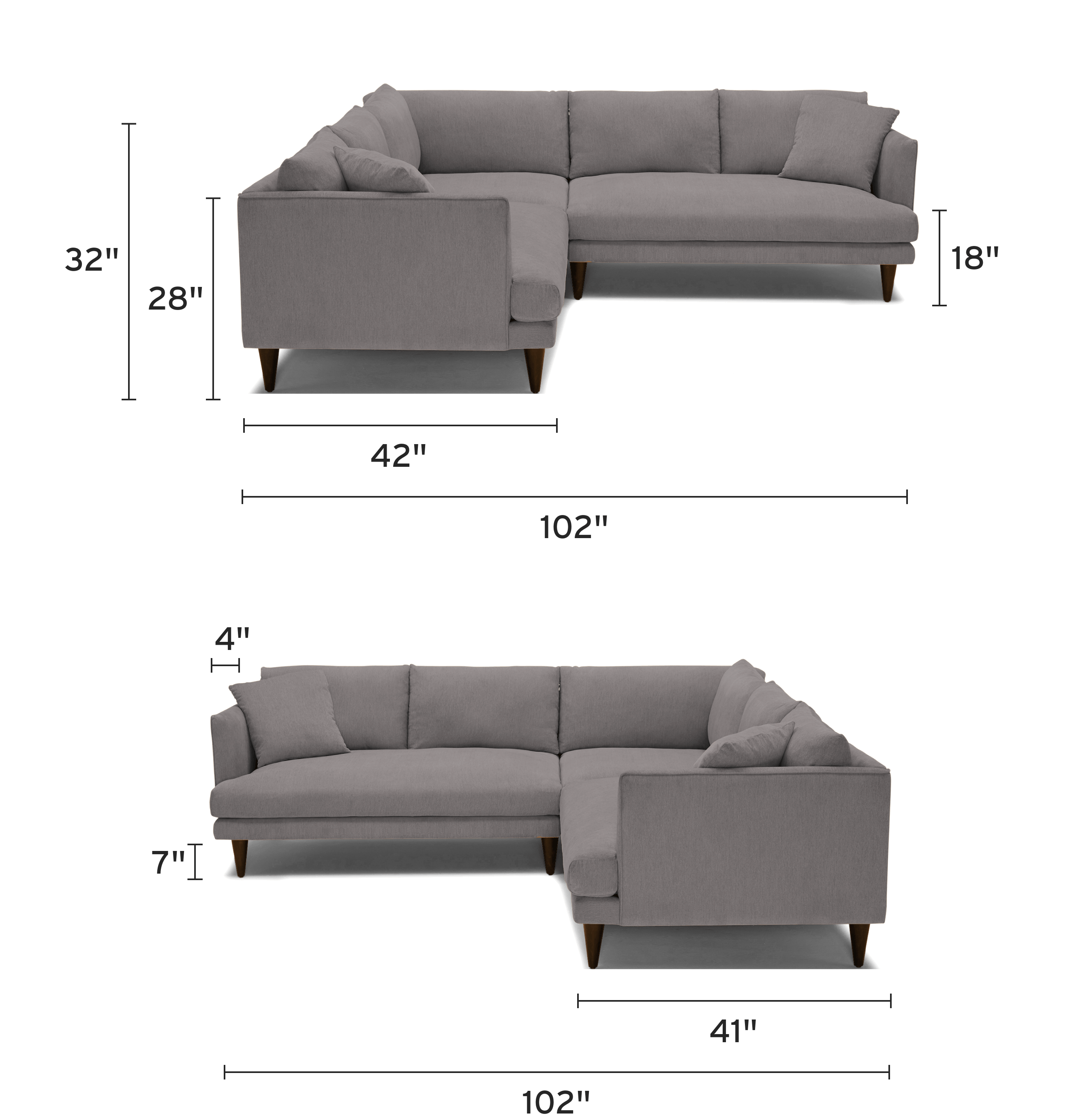 lewis corner sectional piece) mobile