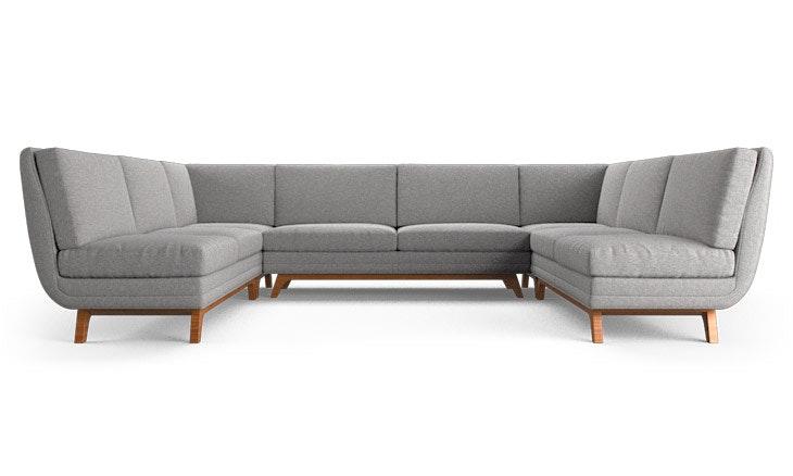 Calhoun Armless U-Sofa Sectional | Joybird