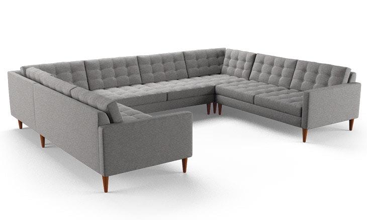 eliot u sofa sectional joybird. Black Bedroom Furniture Sets. Home Design Ideas