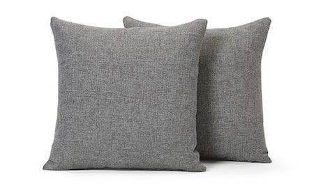 Decorative Knife Edge Pillows 22 x 22 (Set of 2)