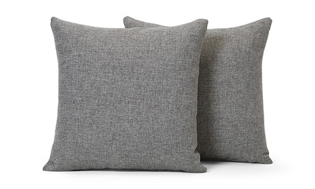 Decorative Knife Edge Pillows 22 x 22 (Set of 2)