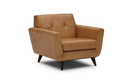 Hughes Leather Chair