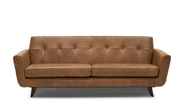 Hughes Leather Sofa