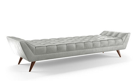 Fitzgerald Leather Bench