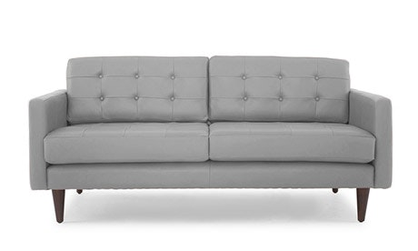 Eliot Leather Loveseat