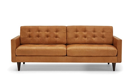 Quick Ship View Eliot Leather Sofa