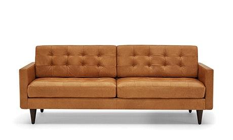 Hughes Sofa · Eliot Leather Sofa