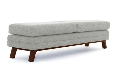 Calhoun Leather Bench