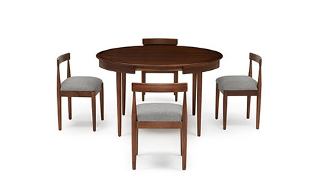 Mid Century Modern Dining Room Tables Sets Joybird Amazing Modern Wood Dining Room Table