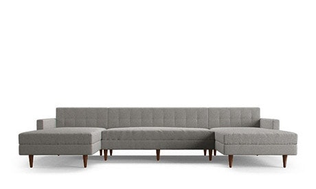 Korver U-Chaise Sectional