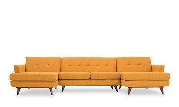 Hughes U-Chaise Sectional