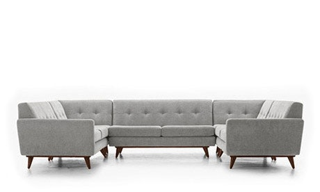 Hughes U-Sofa Sectional