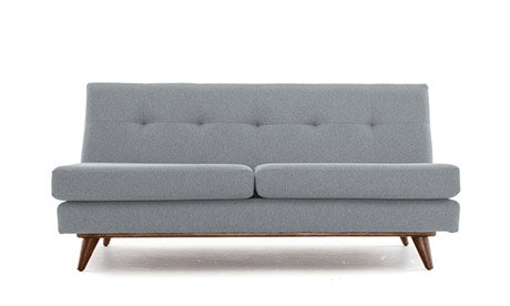 Hughes Armless Loveseat